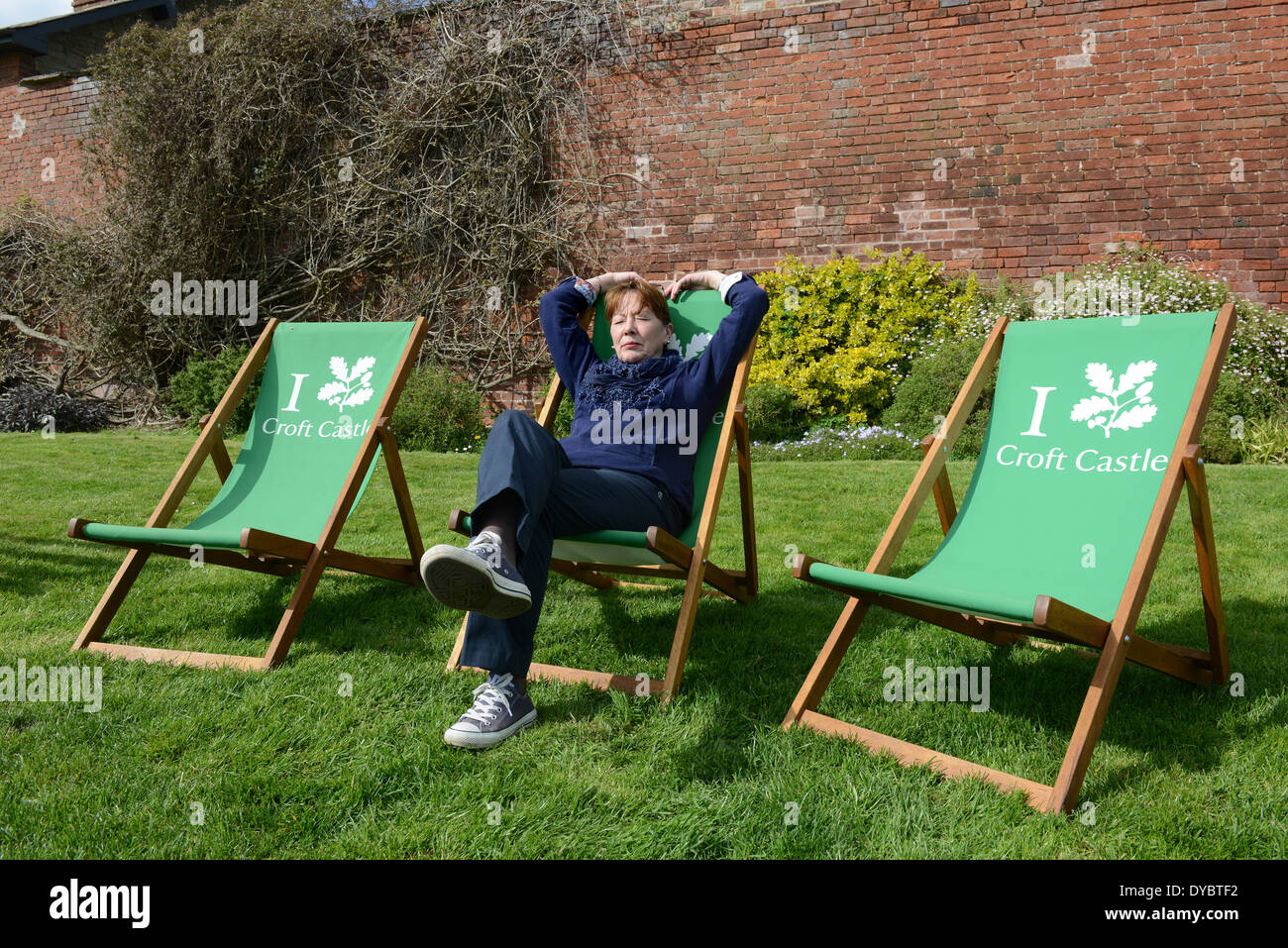 Deck Chair Stock Photos Amp Deck Chair Stock Images Alamy