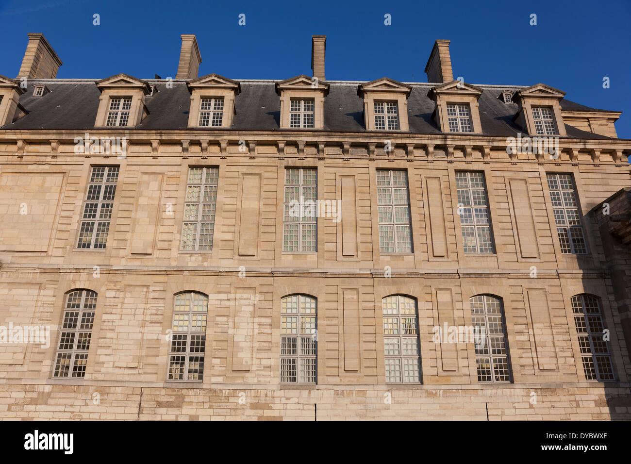 Vincennes castle, Paris, Ile-de-france, France - Stock Image