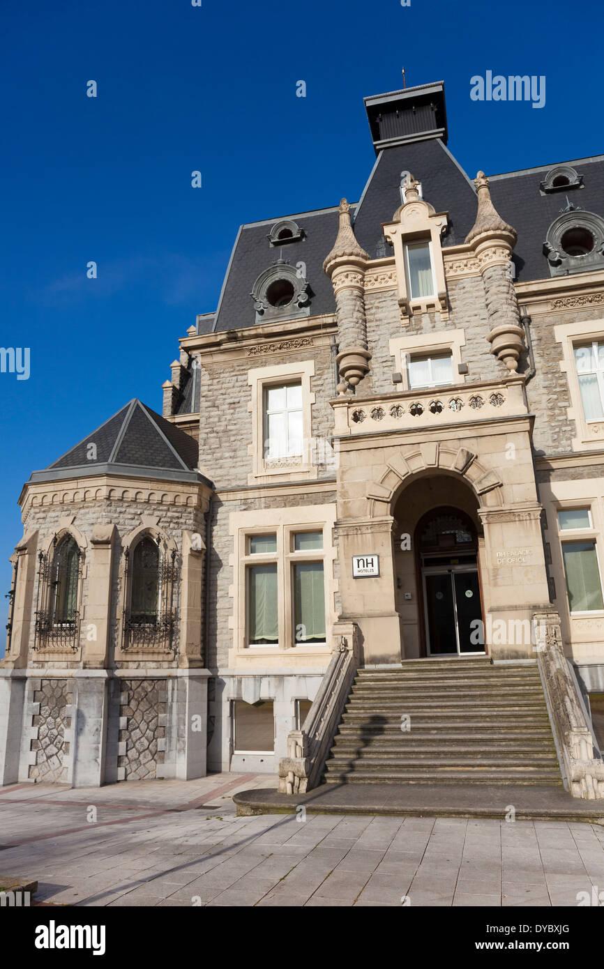 Oriol palace, Santurtzi, Bizkaia, Basque Country, Spain - Stock Image