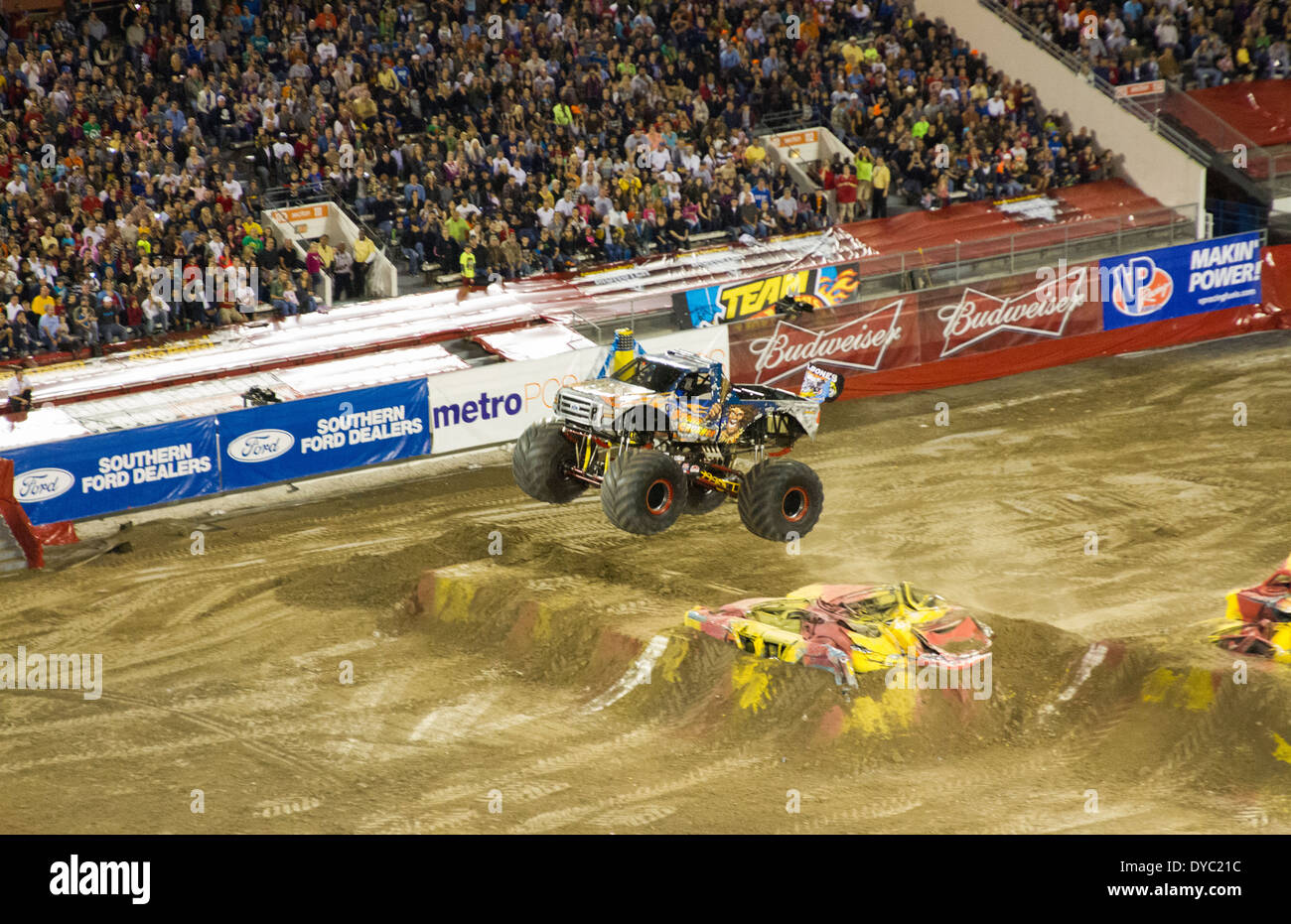 Orlando Ford Dealers >> Monster Truck Jam At Citrus Bowl In Orlando Florida Stock