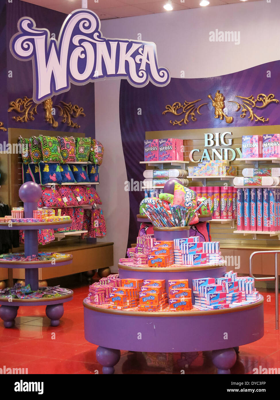 FAO Schwarz Flagship Toy Store Interior, NYC Stock Photo