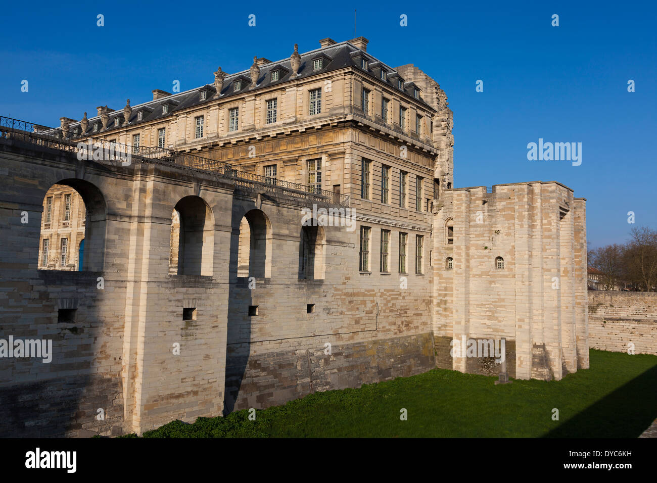 Vincennes castle, Paris, Ile-de-france, France Stock Photo