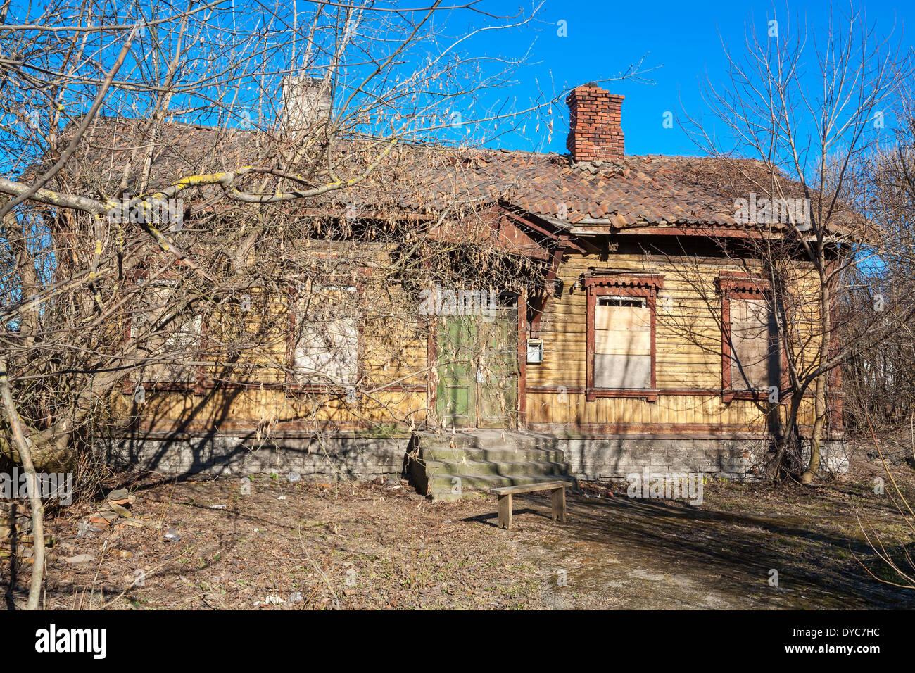 Old abandoned house - Stock Image