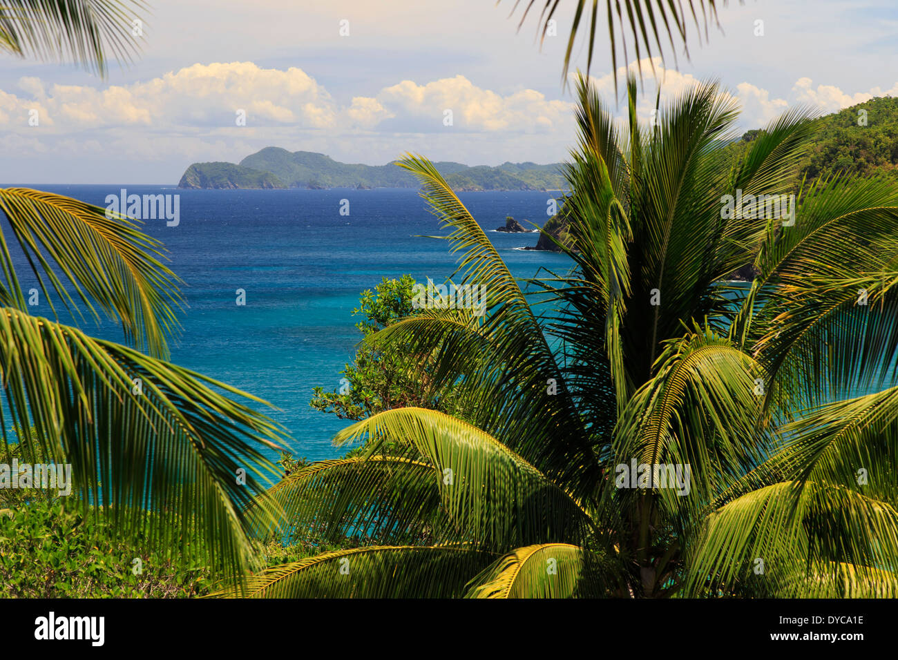Philippines, Palawan, Port Barton, Baybay fishing village - Stock Image