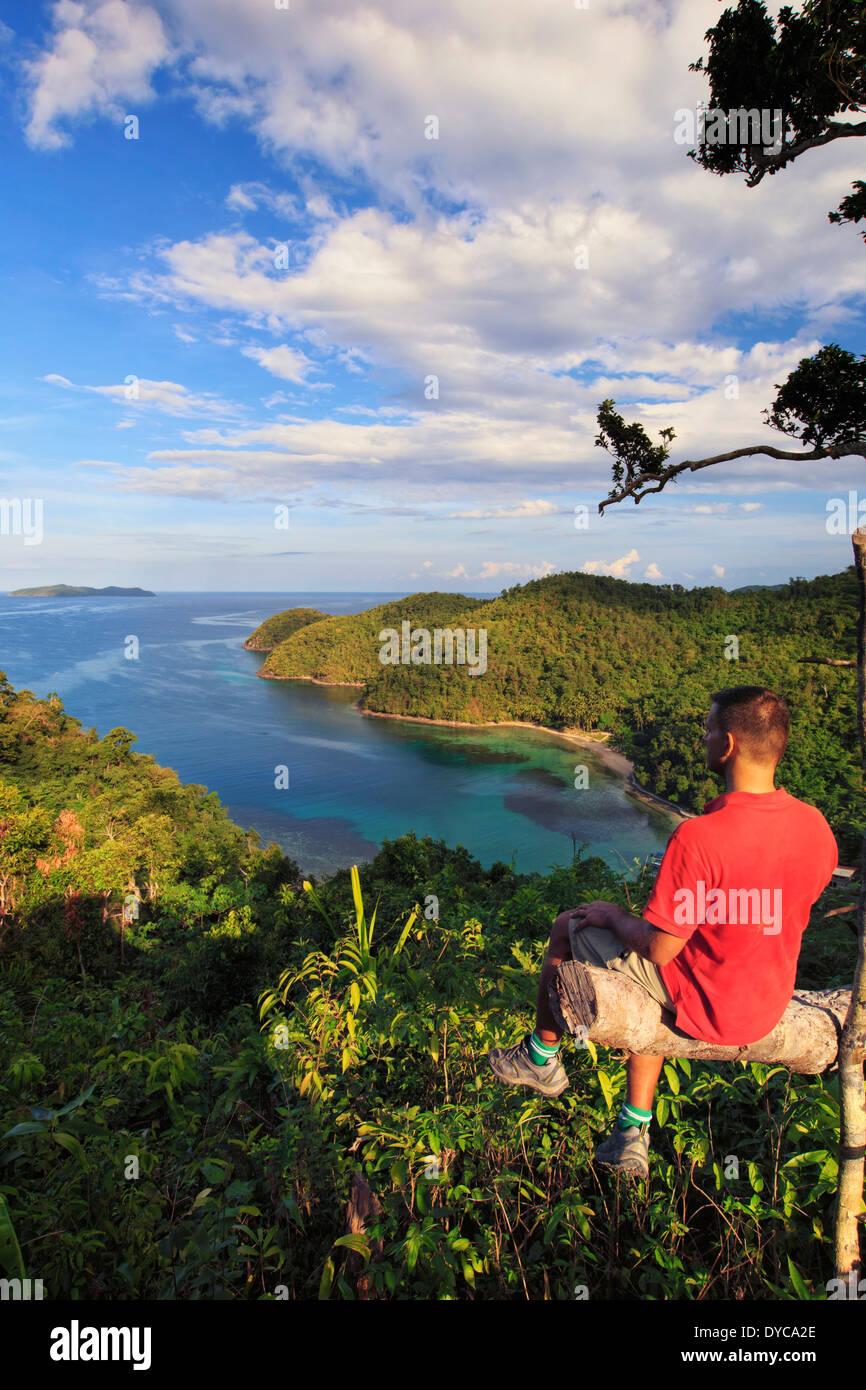 Philippines, Palawan, Port Barton, Turtle Bay (MR) - Stock Image
