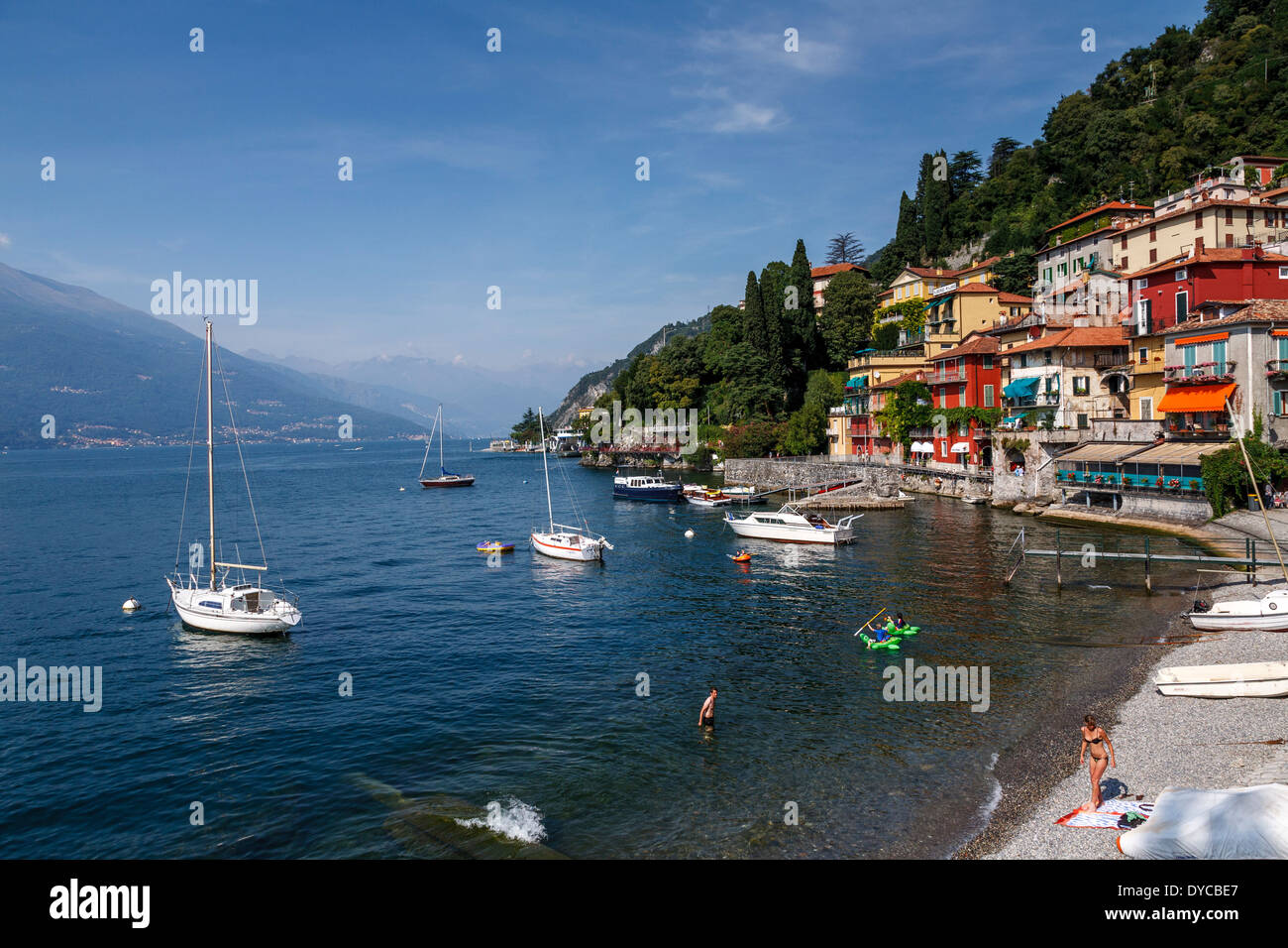 Varenna, Lake Como, Italy - Stock Image