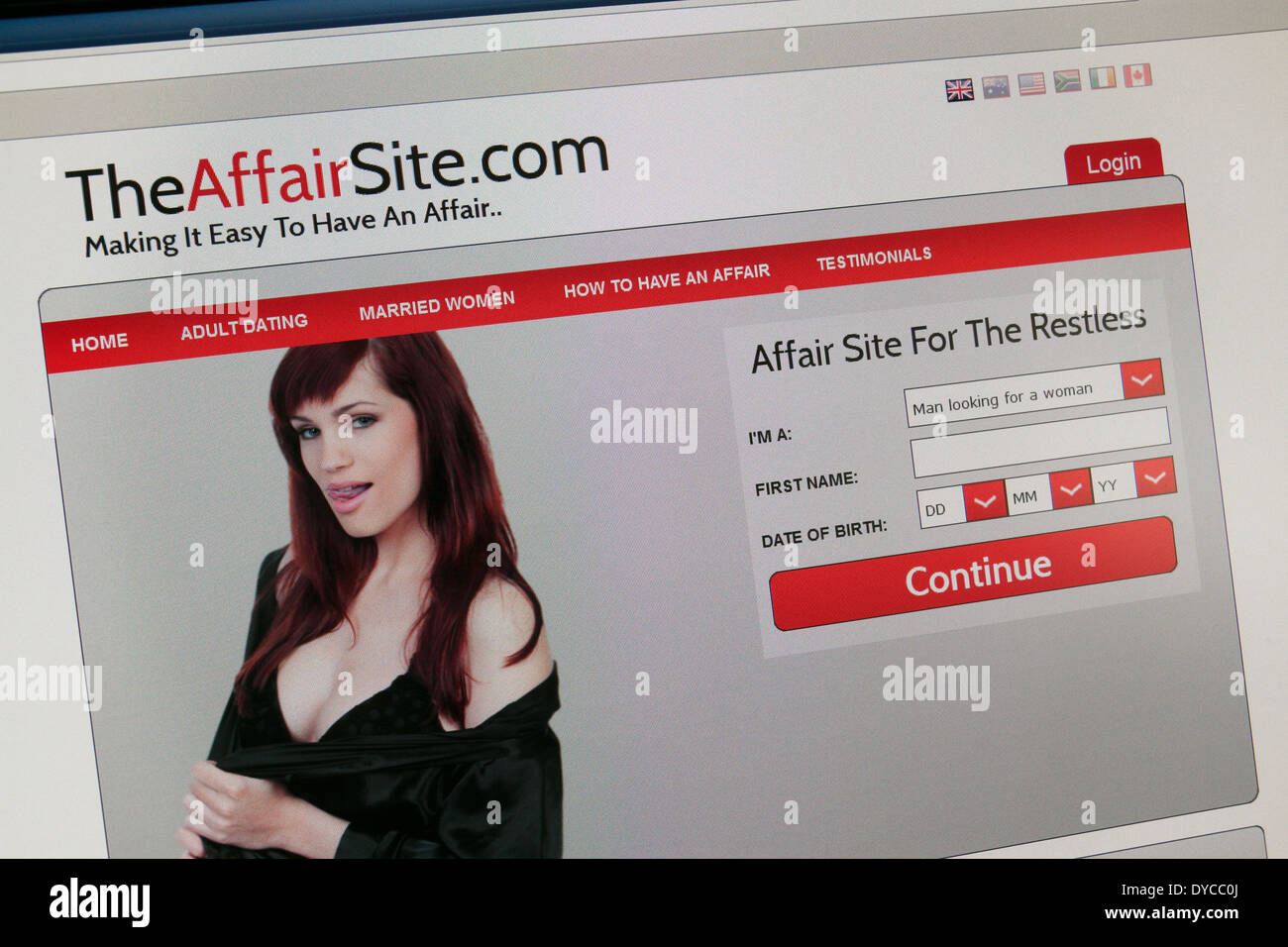 Dating website affairs #1