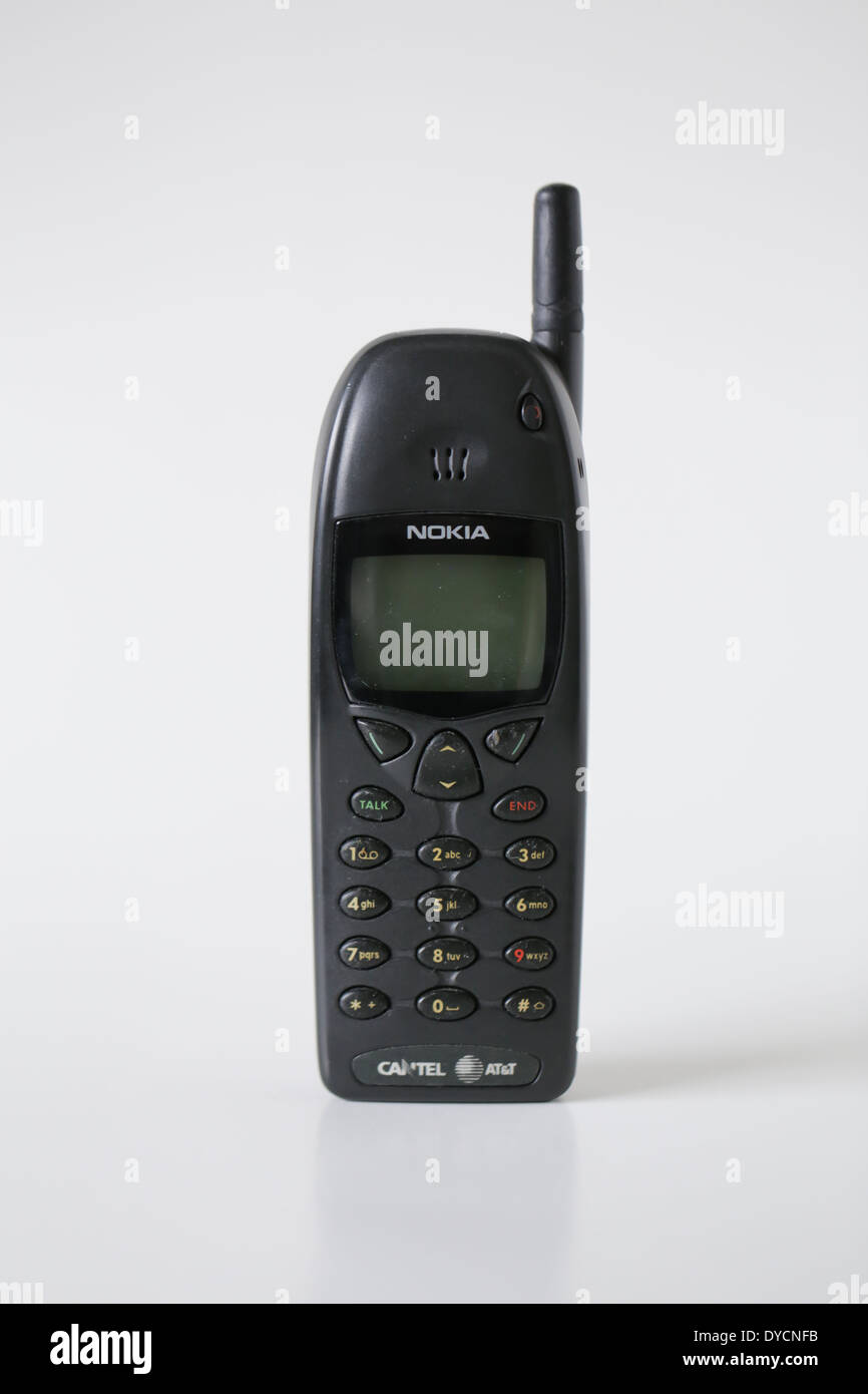 old nokia cell phone - Stock Image