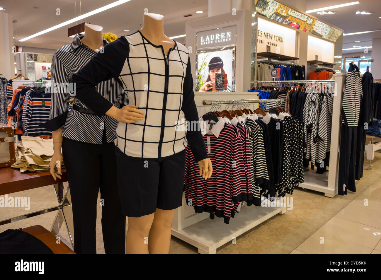 e4cc84788271 Orlando Florida The Mall at Millenia shopping sale fashion display Macy s  Department Store women s clothing racks tops shirts blouses mannequin Ralph