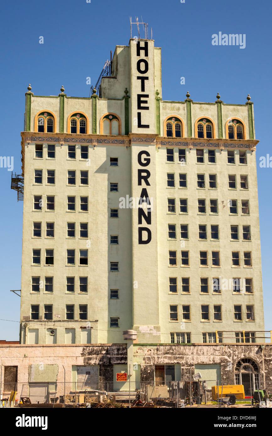 Florida Fl South Lake Wales Hotel Grand Dixie Walesbilt Hotel Stock Photo Alamy