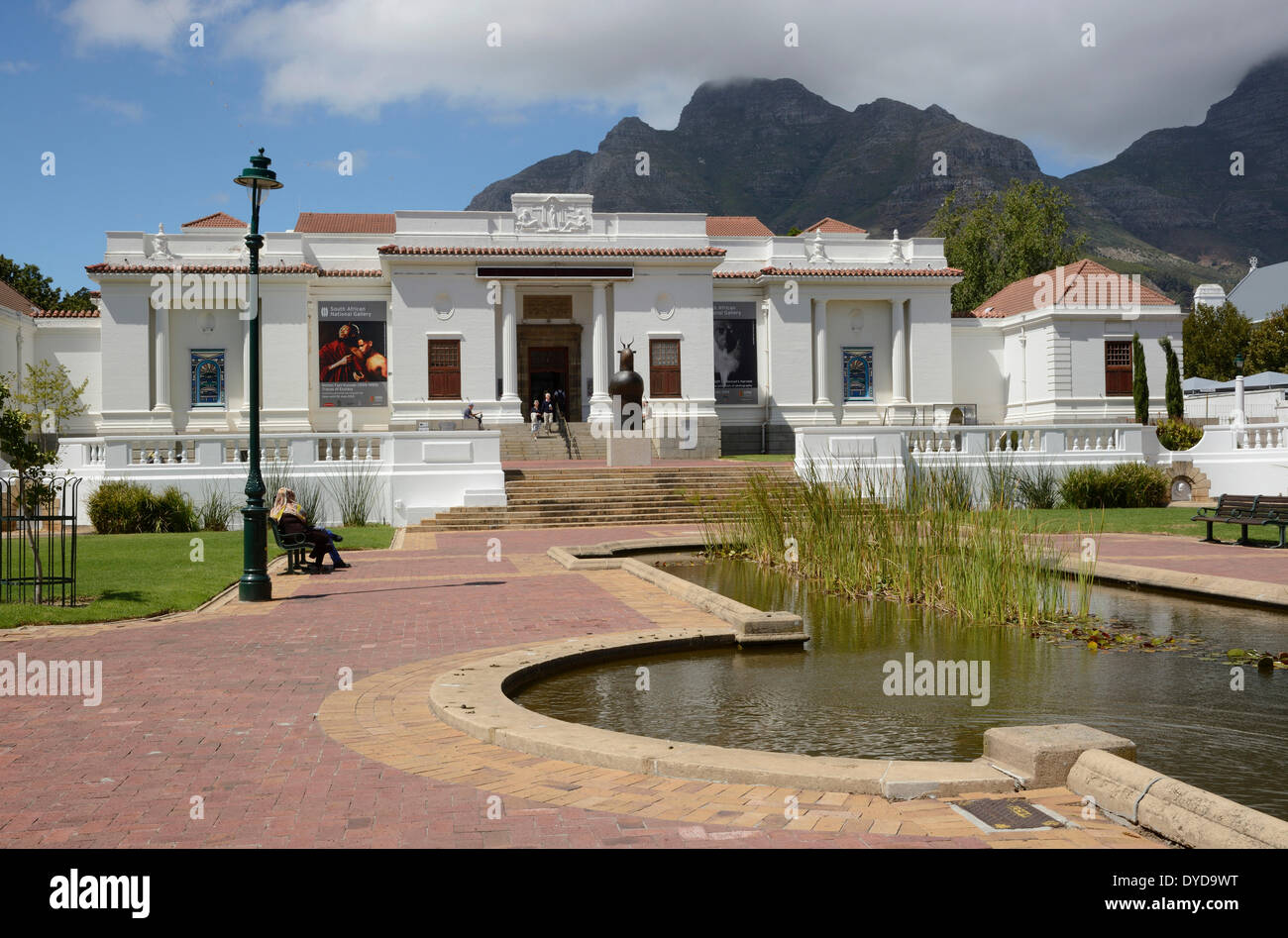 South African National Gallery, Company's Gardens, Cape Town, Western Cape, South Africa Stock Photo