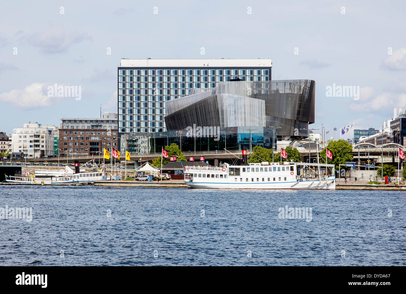 Radisson Blu Waterfront Hotel and Conference Centre, Stockholm, Stockholms län or Stockholm County, Sweden - Stock Image