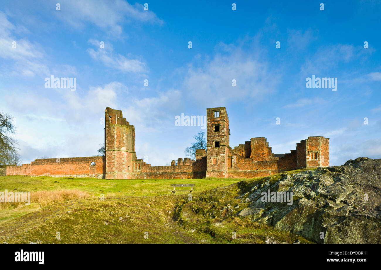Bradgate House was the birthplace of Lady Jane Grey. - Stock Image