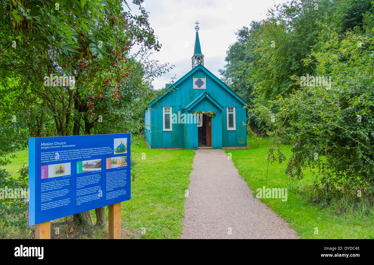 Mission Church at Avoncroft Museum of Buildings. - Stock Image