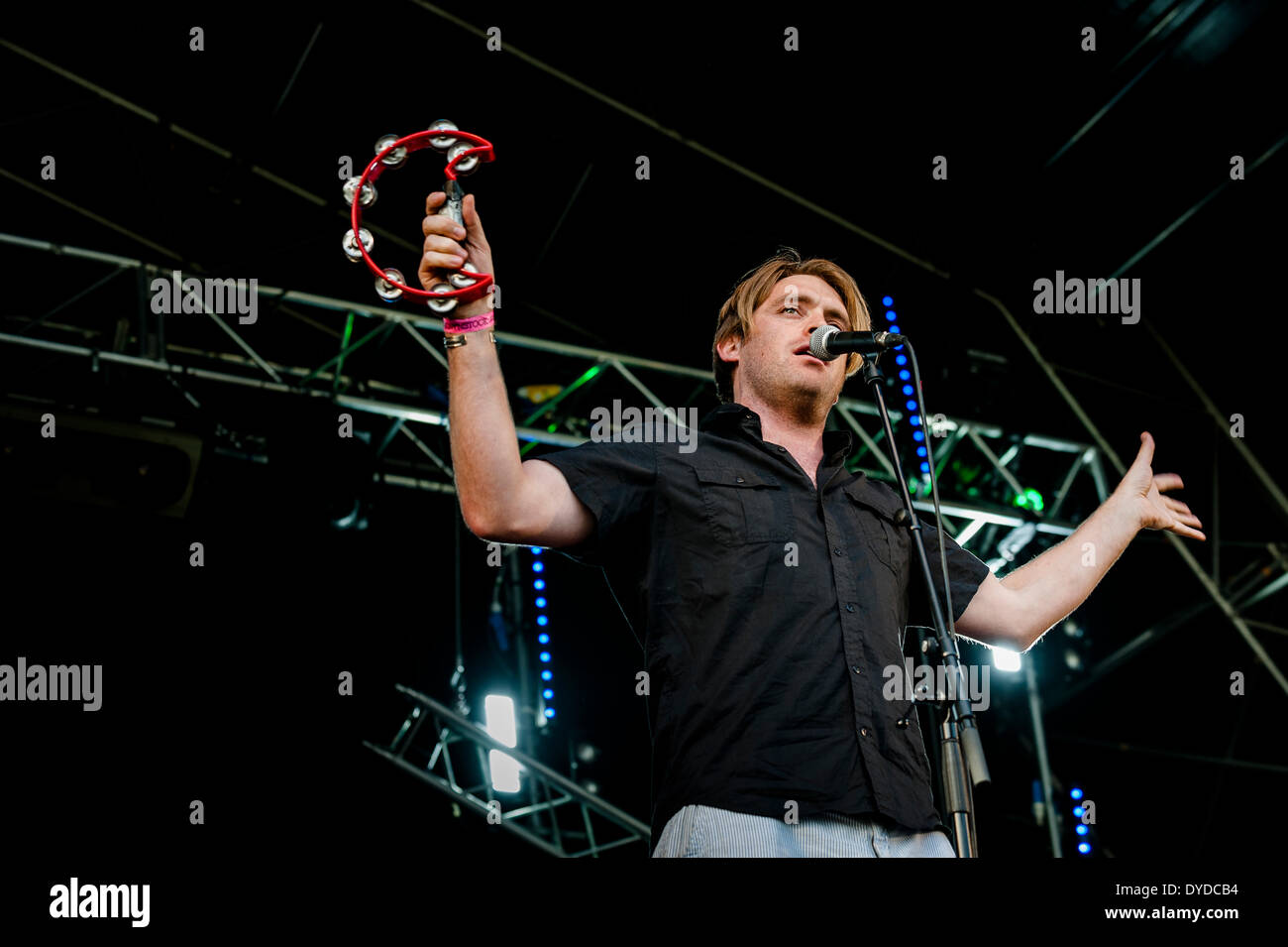 The Hamptons performing at the Brownstock Festival in Essex. - Stock Image