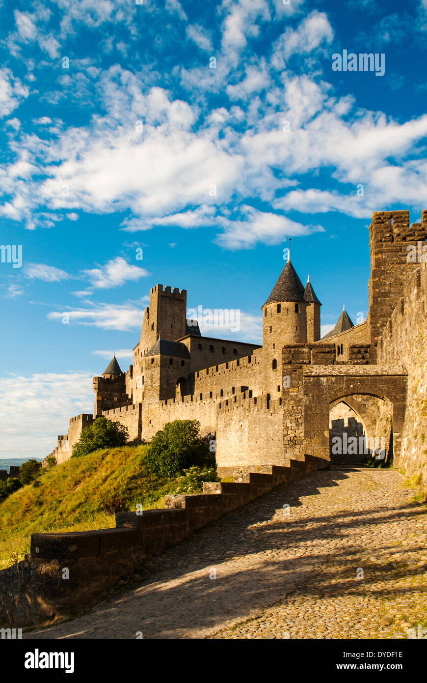 The fortified city of Carcassonne. - Stock Image