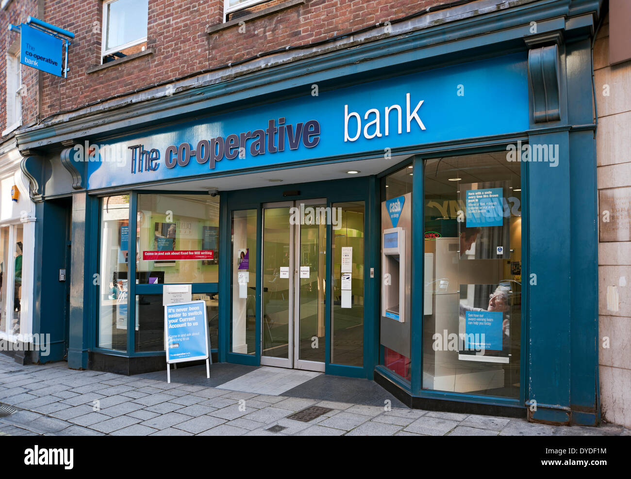 Branch of The Co-operative Bank. - Stock Image
