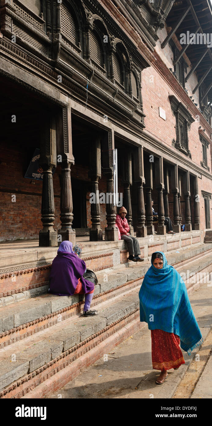 Pashupatinath Temple in Kathmandu. - Stock Image