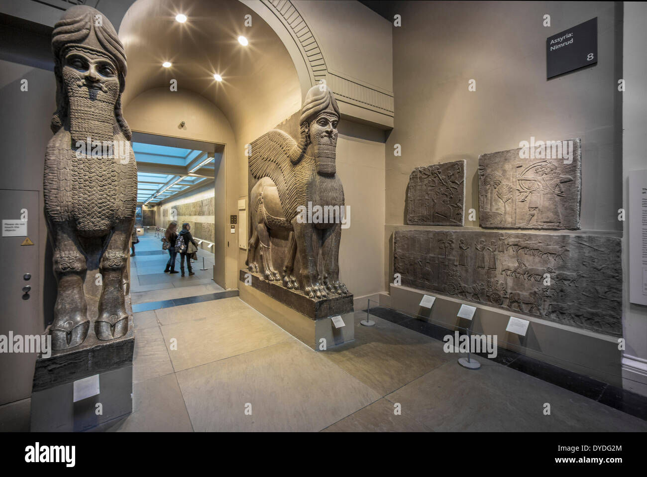 Egyptology in the British Museum. - Stock Image