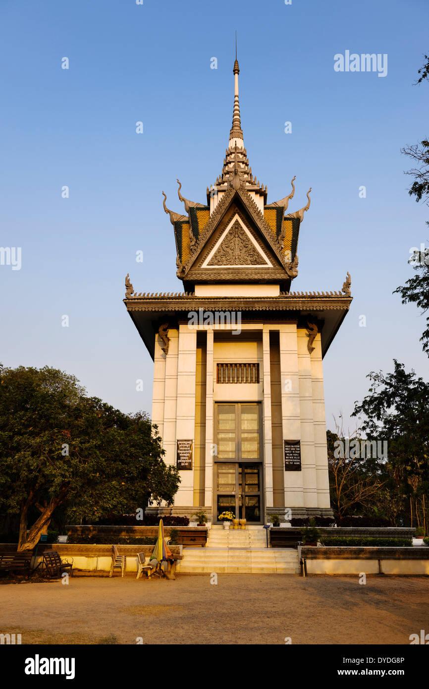 The Killing Fields at Choeung Ek in Phnom Penh. Stock Photo