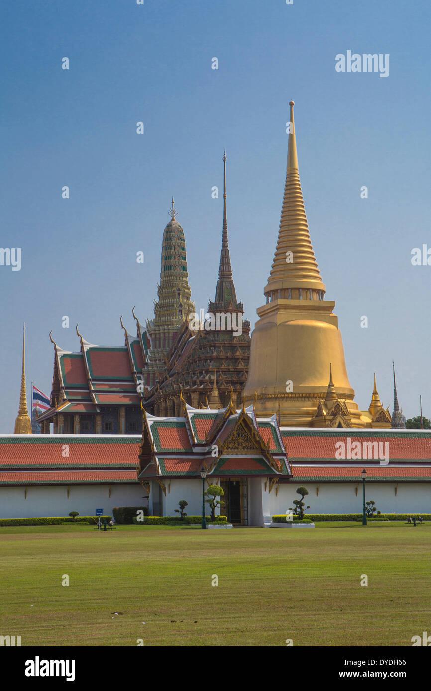 architecture, colourful, famous, history, palace, royal, skyline, touristic, travel, unesco - Stock Image