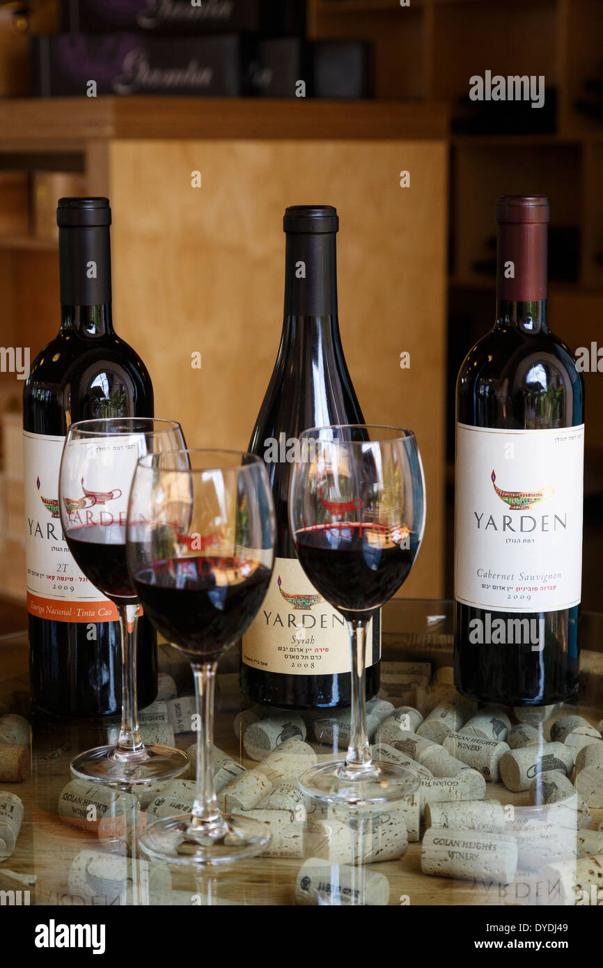 The Golan Heights Winery at the Golan Heights, Israel. - Stock Image