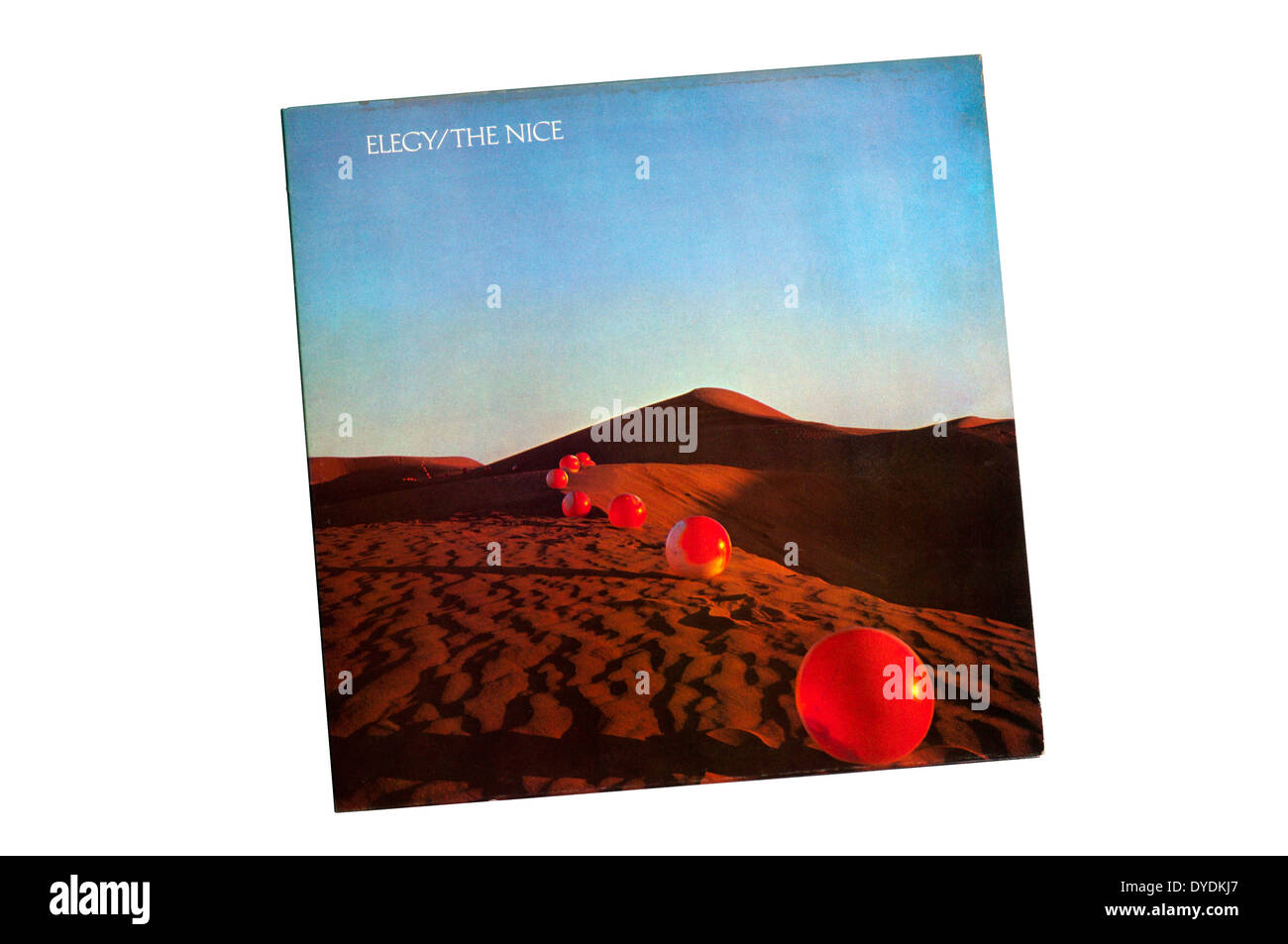 Elegy was the final album released by The Nice, in 1971. - Stock Image
