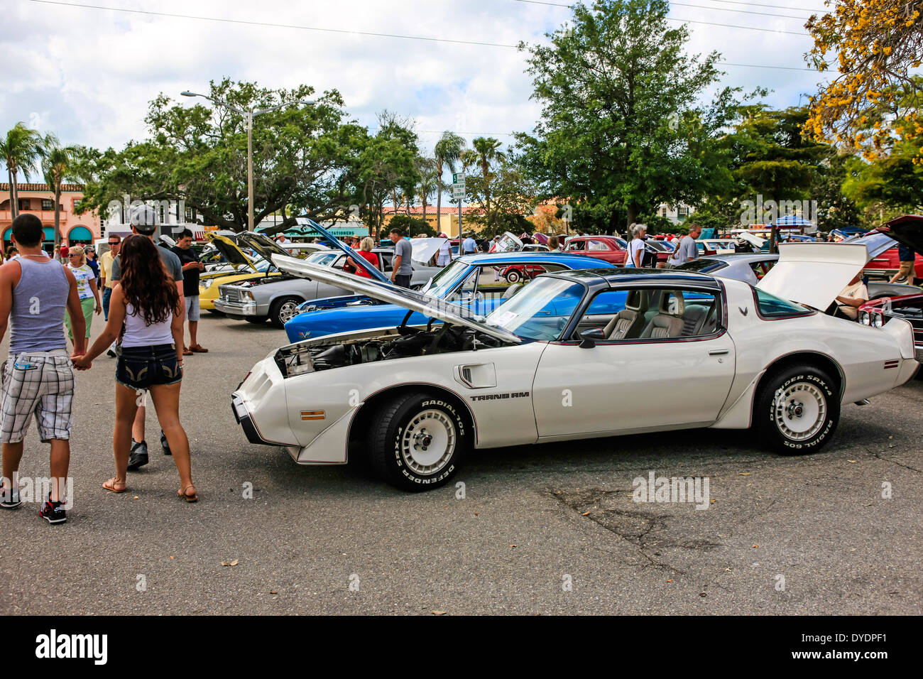 Classic Car Show In Venice Stock Photos Classic Car Show In Venice - Car show venice florida