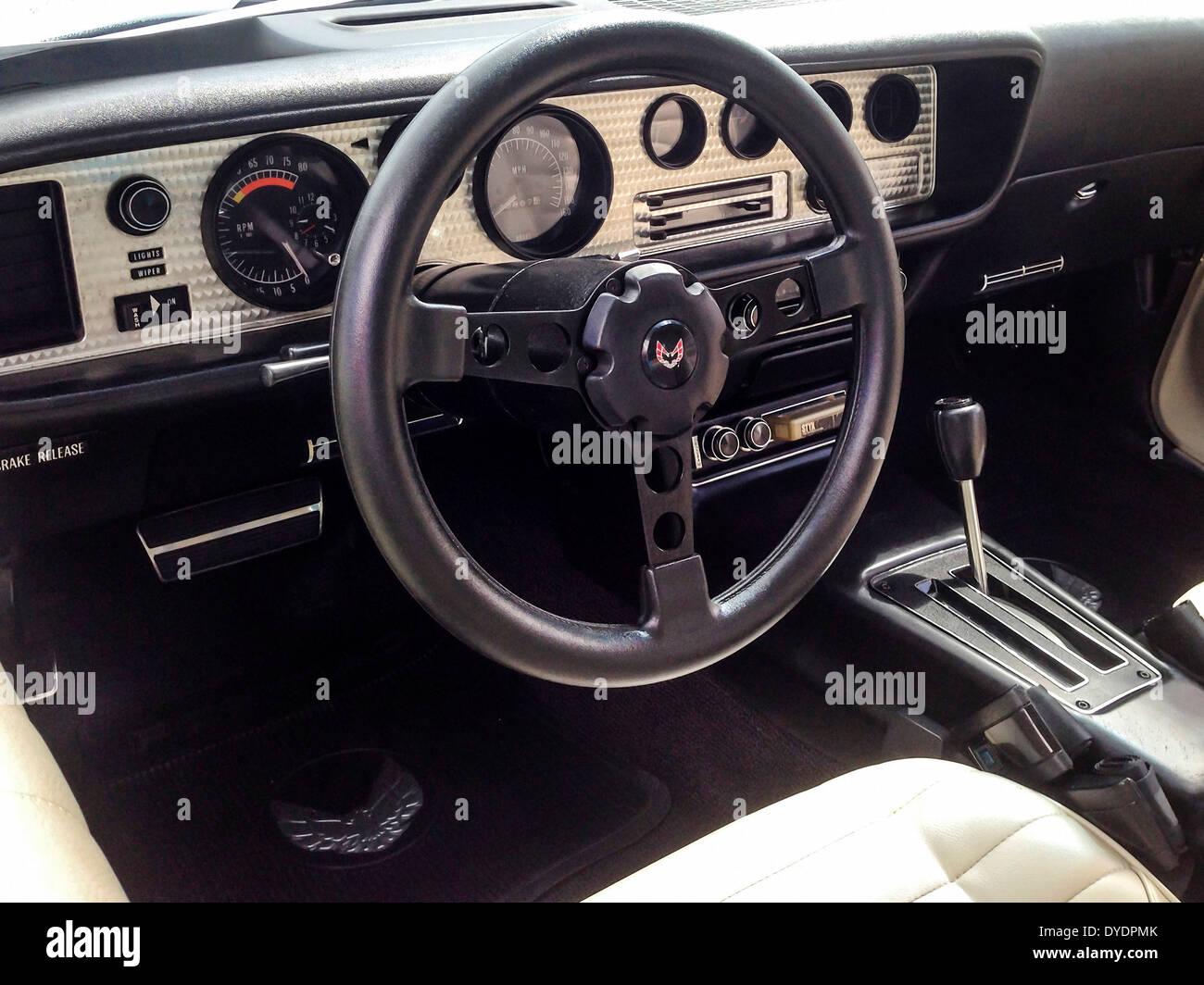 1980 Pontiac Firefird Trans Am Interior