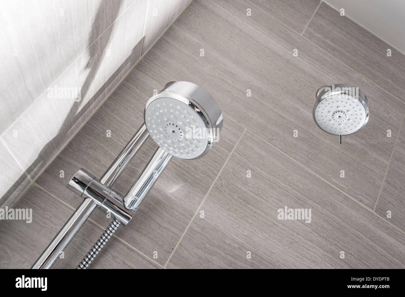 Shower Head Detail - Stock Image