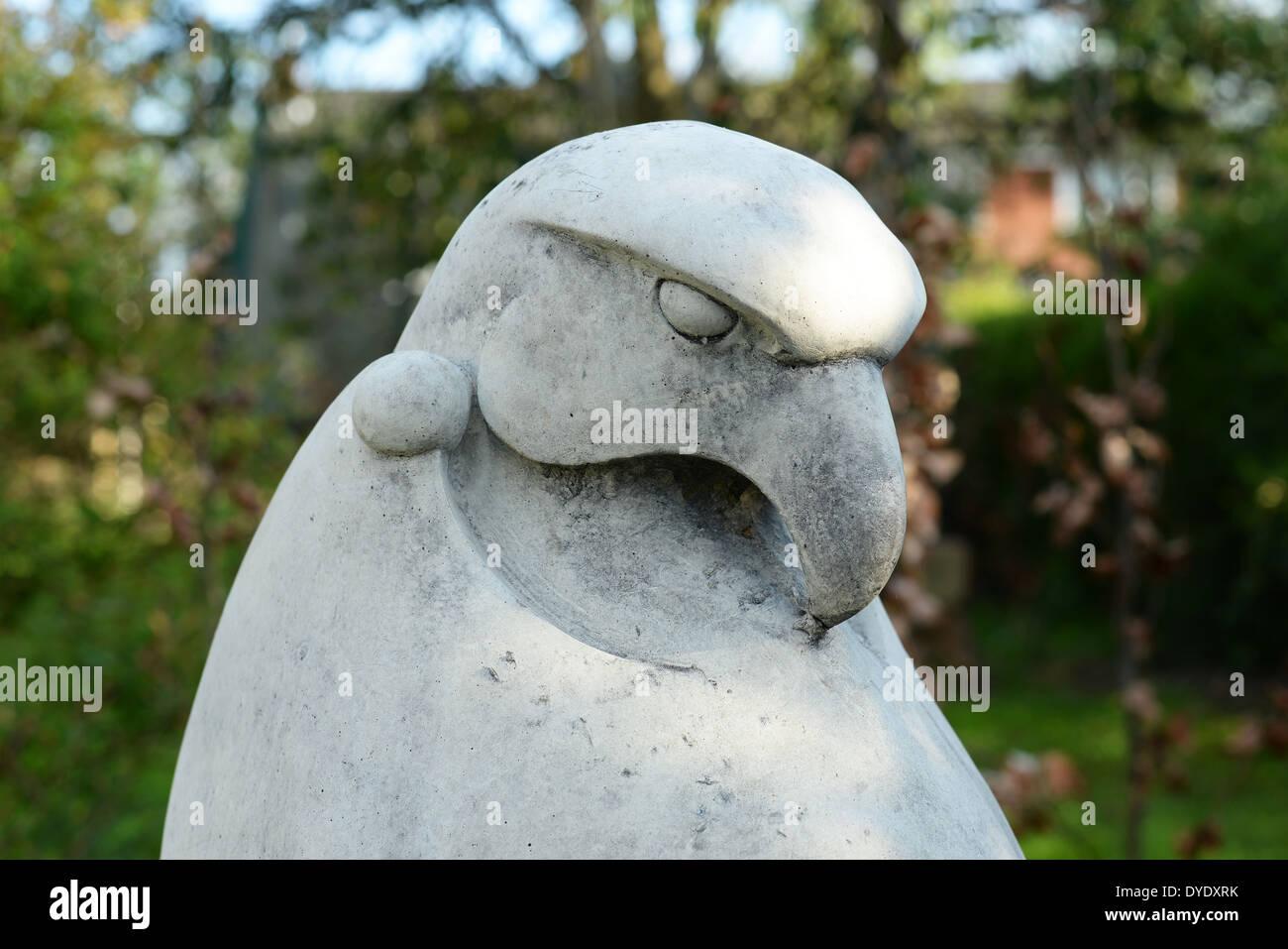 Eagle Garden Statue   Stock Image