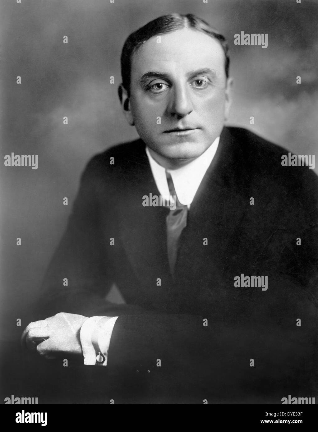 Maurice Tourneur, French Film Director, Portrait, circa 1920 - Stock Image