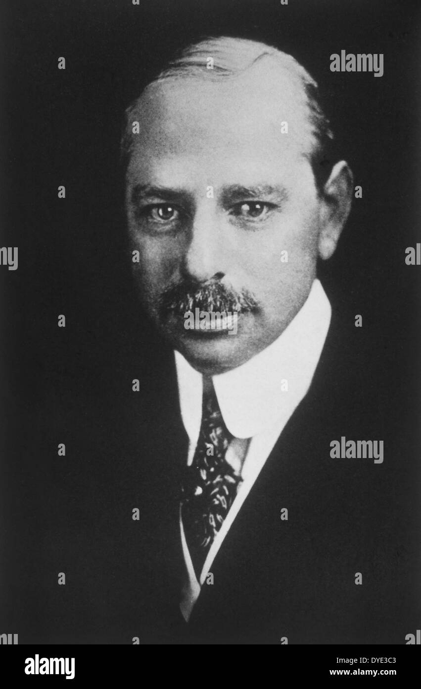 Marcus Loew (1870-1927), American Pioneer of the American Motion Picture Industry who Formed Loew's Theaters and Metro-Goldwyn-Mayer, Portrait, 1920's - Stock Image