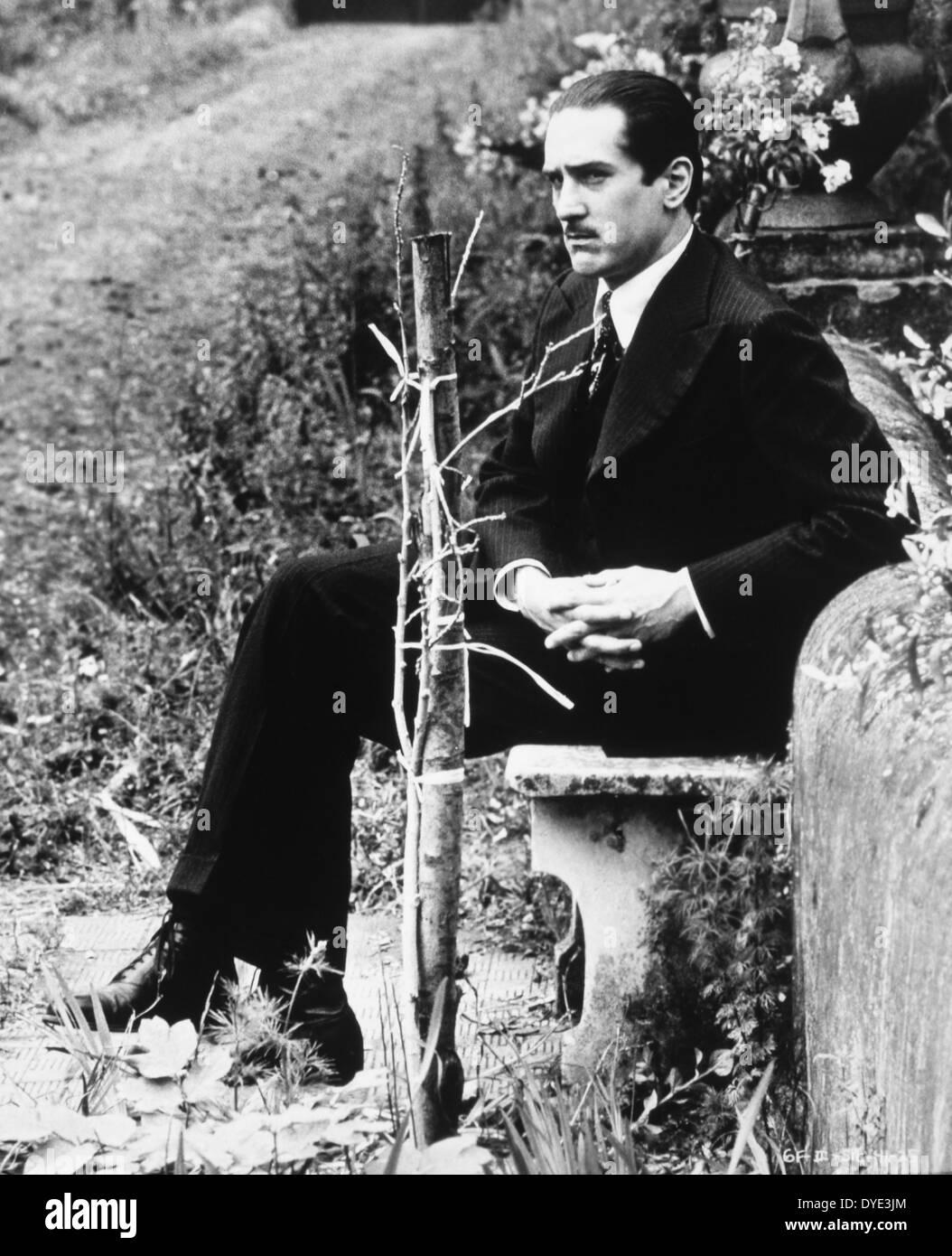 Robert De Niro, on-set of the Film, 'The Godfather Part II', 1974 - Stock Image