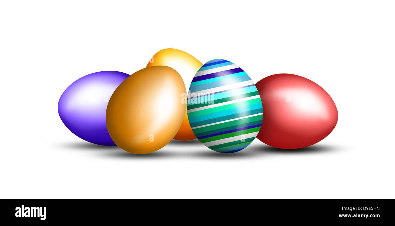 Nice decoration for Easter time - Stock Image