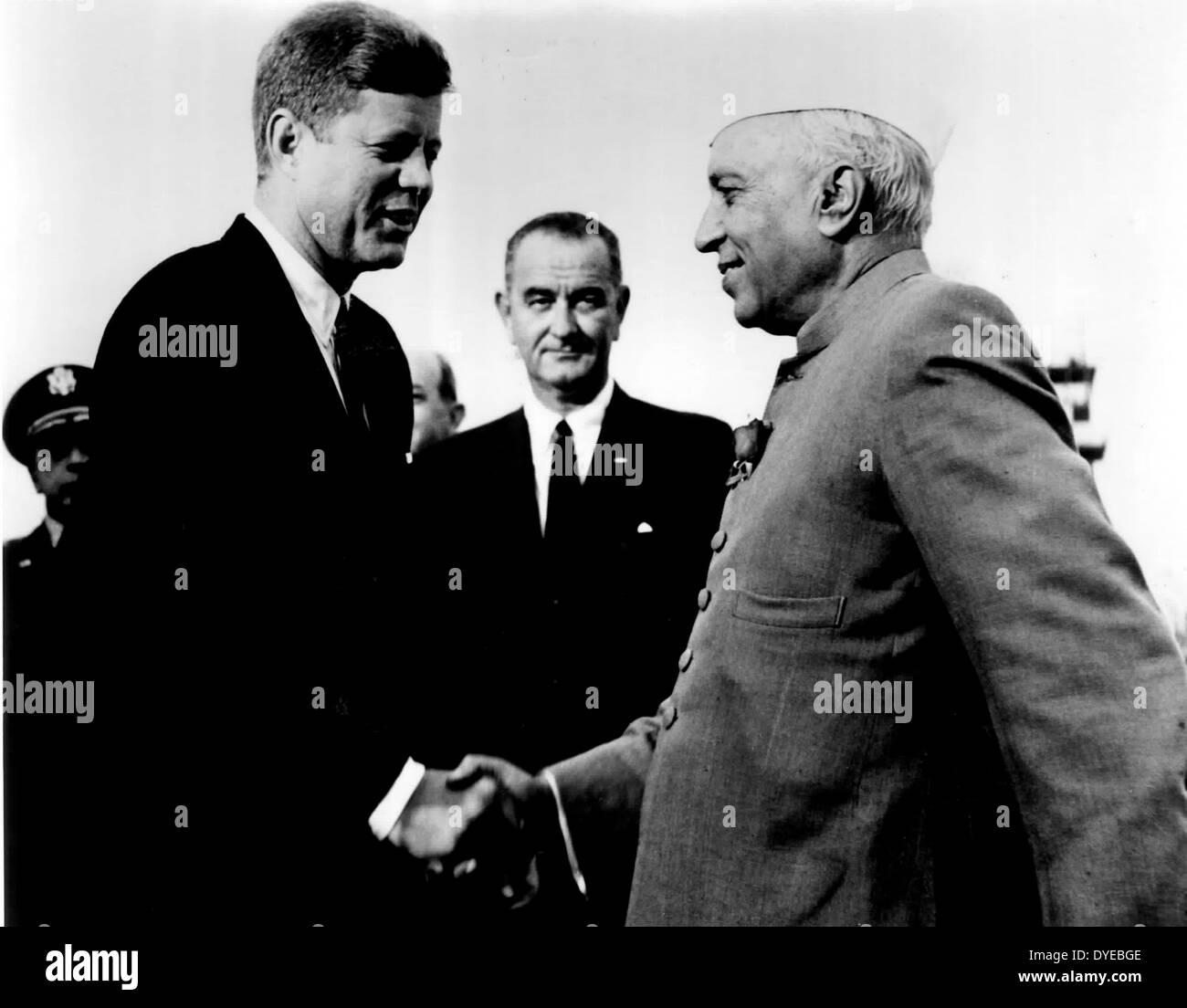 Jawaharlal Nehru 14 November 1889 – 27 May 1964. - Stock Image