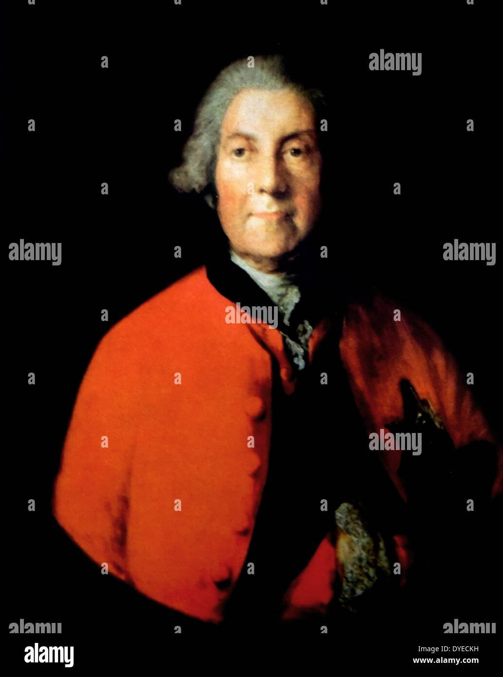 Lord John Russell, 4th Duke of Bedford - Stock Image