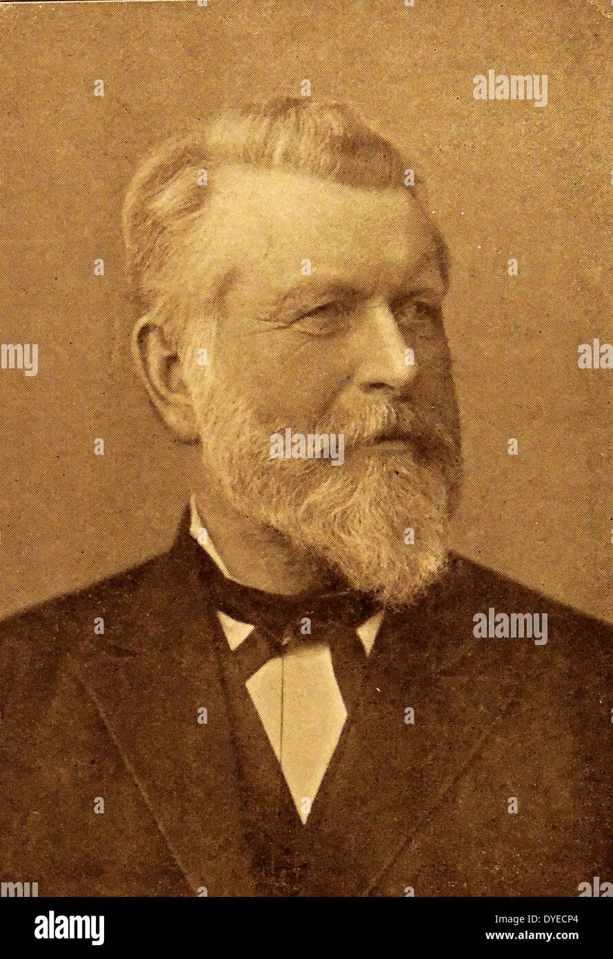 Illustration of Johannes Steen Stock Photo