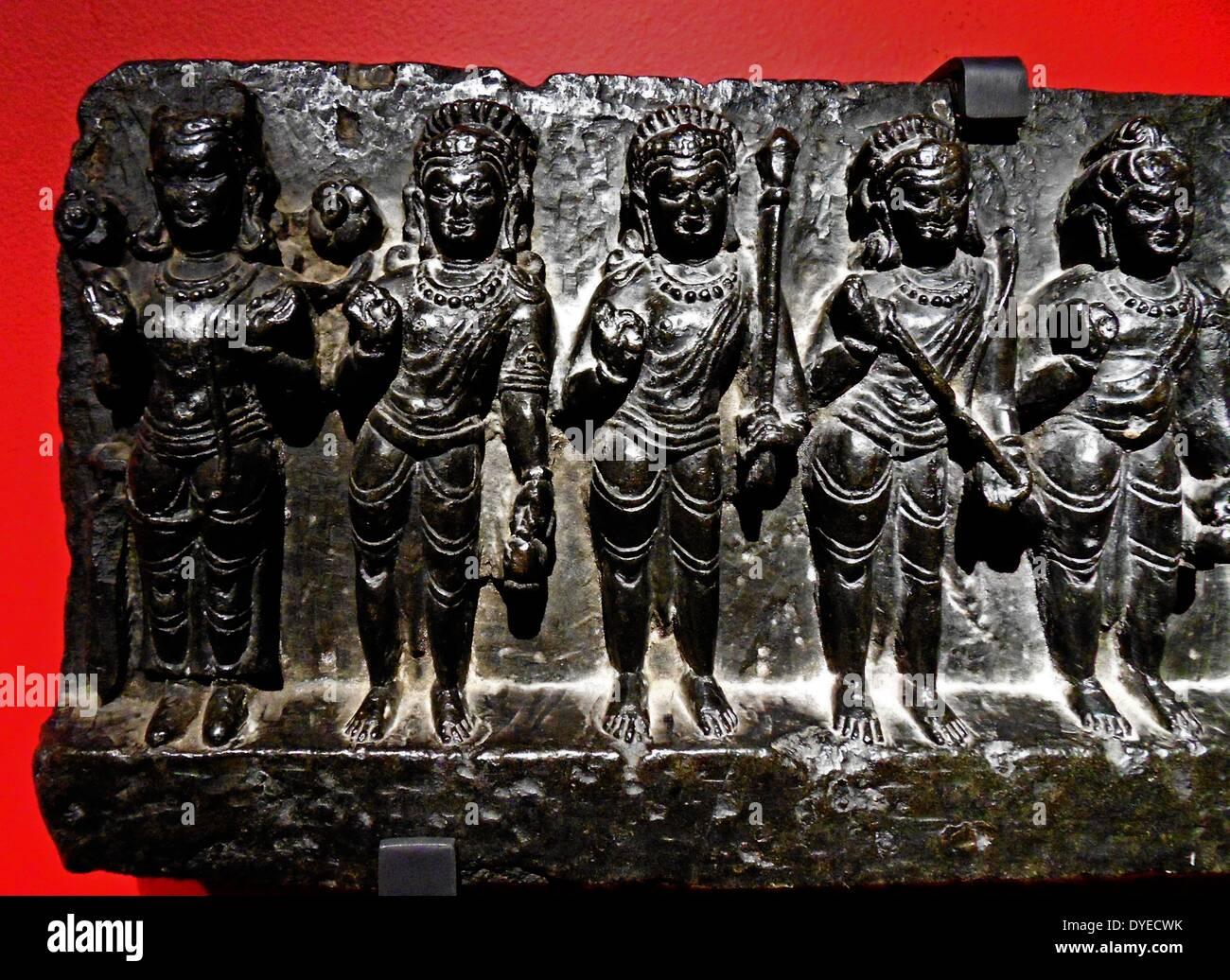 The Planetary Deities 1000 B.C. - Stock Image