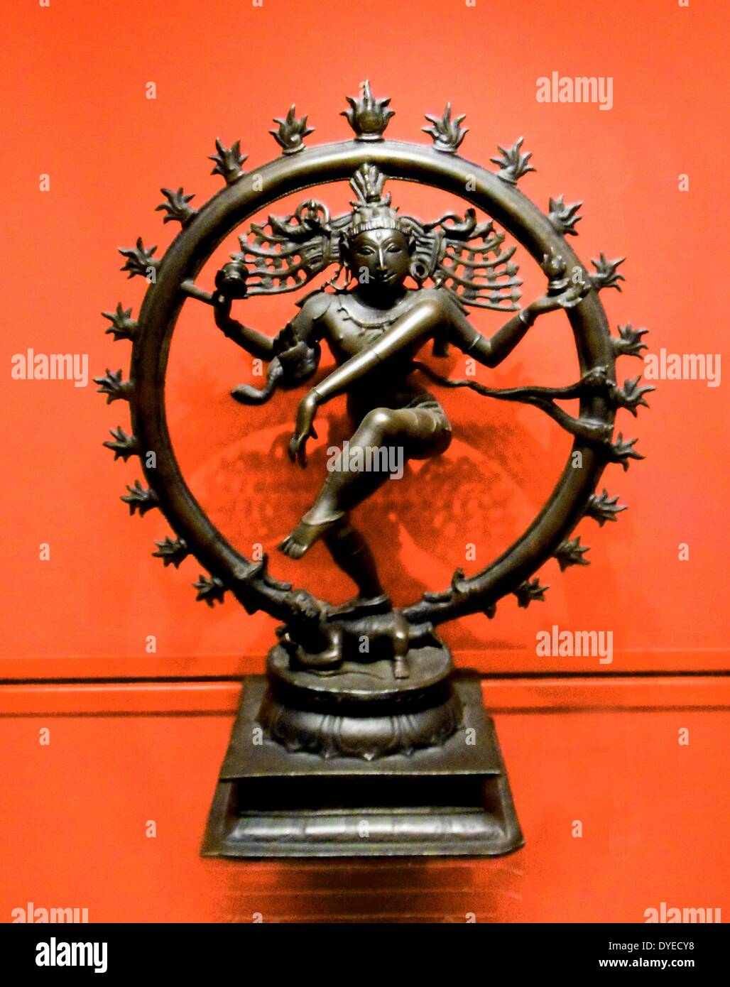 Shiva Nataraja, Lord of the Dance circa 950 A.D. - Stock Image