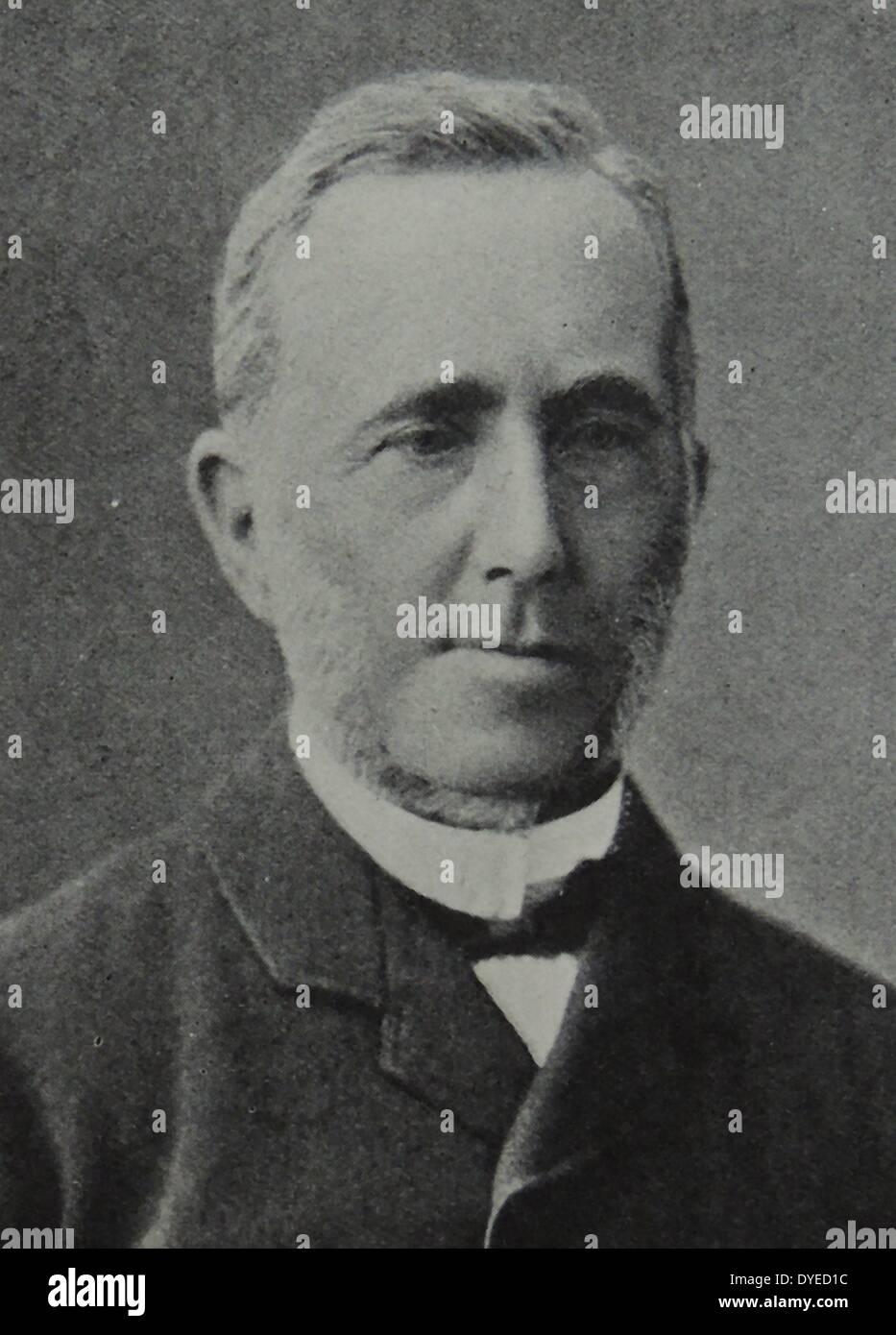 Illustration of Harald Berg - Stock Image