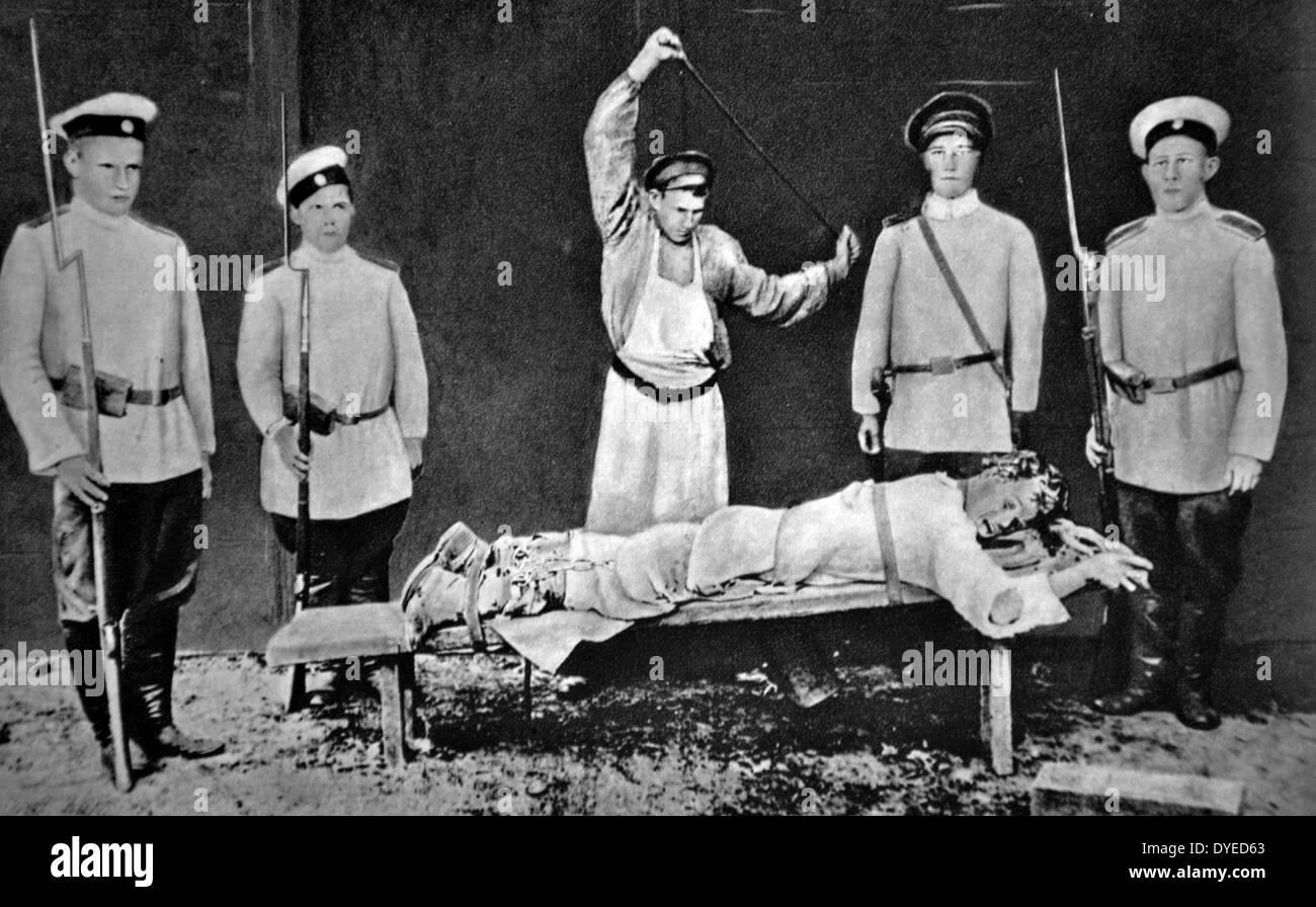 Prisoner in Soviet Russia. - Stock Image