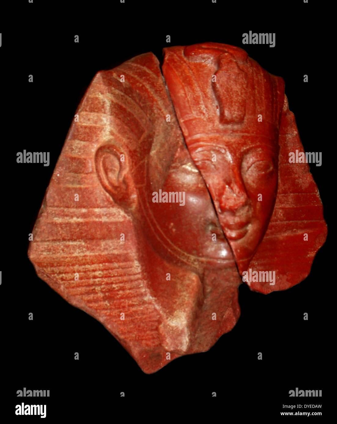 Head of Pharaoh - Stock Image