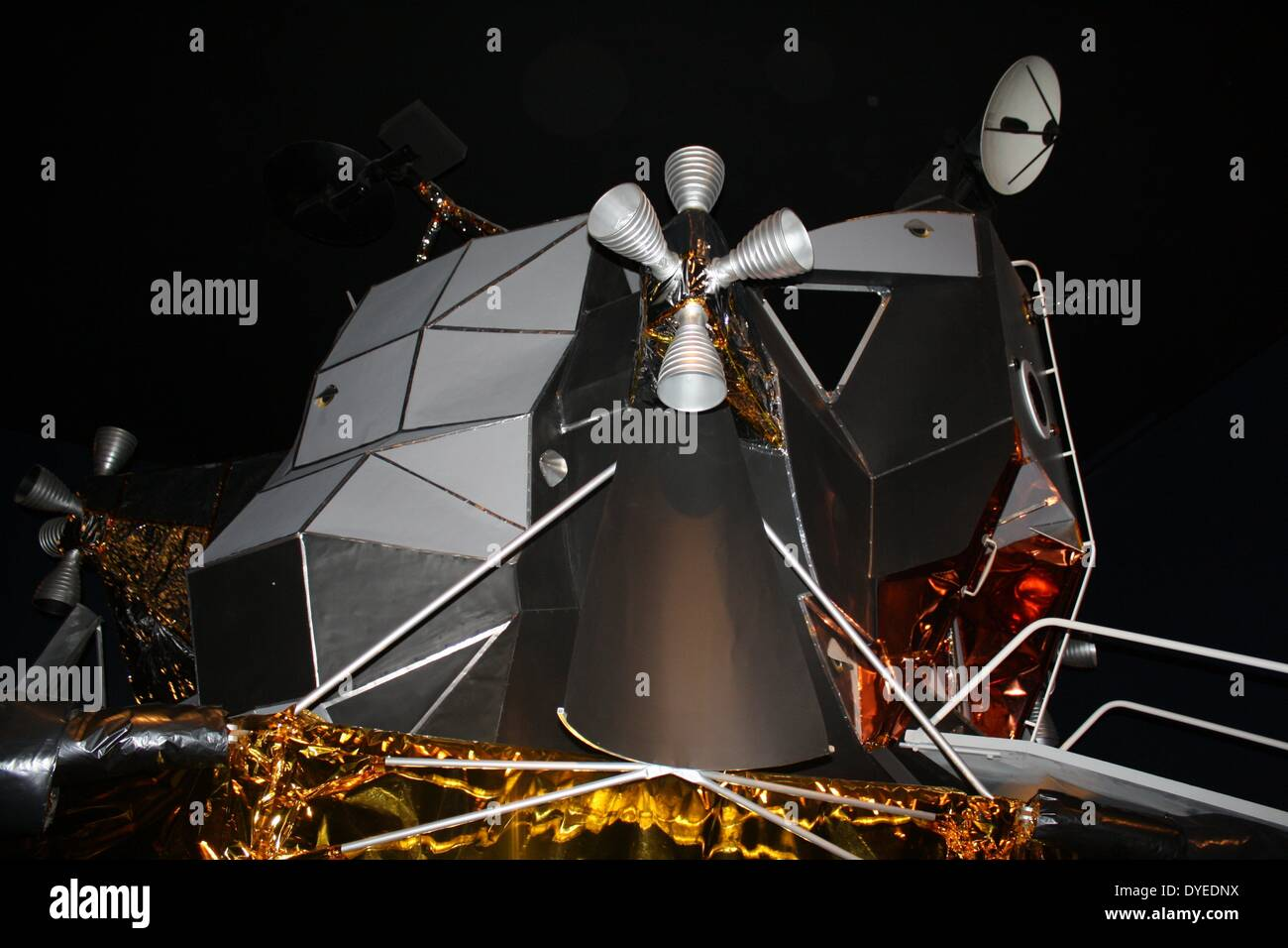 Reconstruction of the Apollo 11 Moon Landing 2013 A.D. - Stock Image