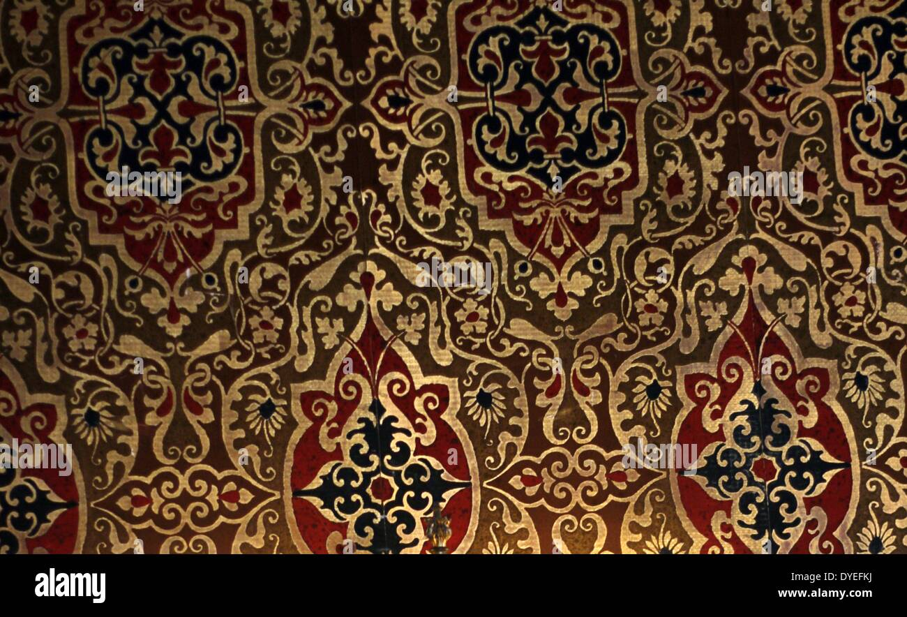 17th Century Tapestry A.D. - Stock Image