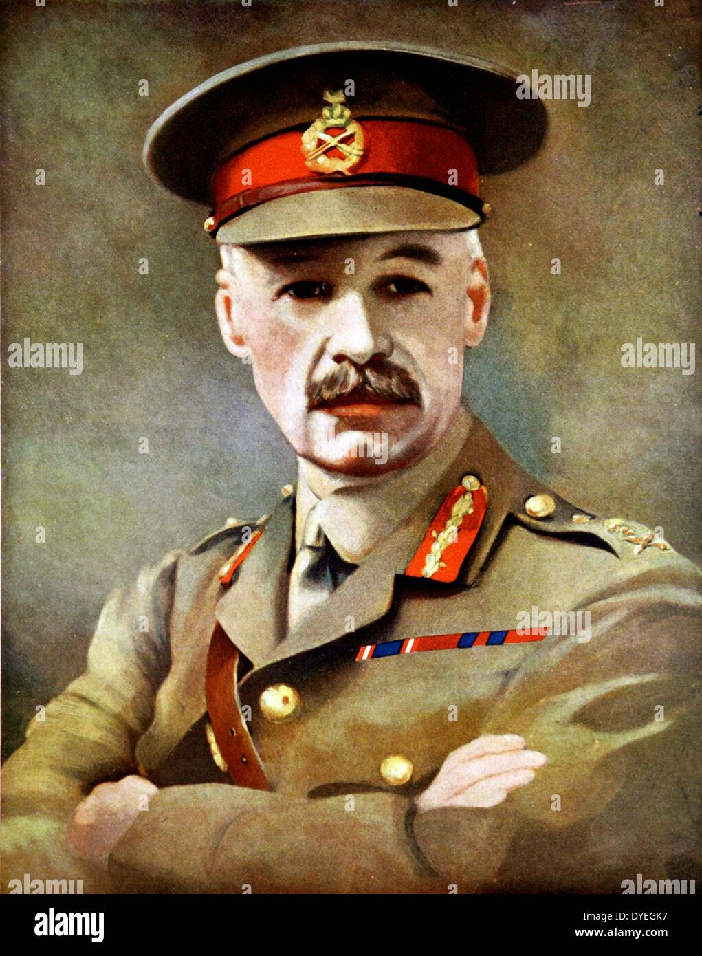 General Sir Henry Seymour Rawlinson (1864-1925) - Stock Image