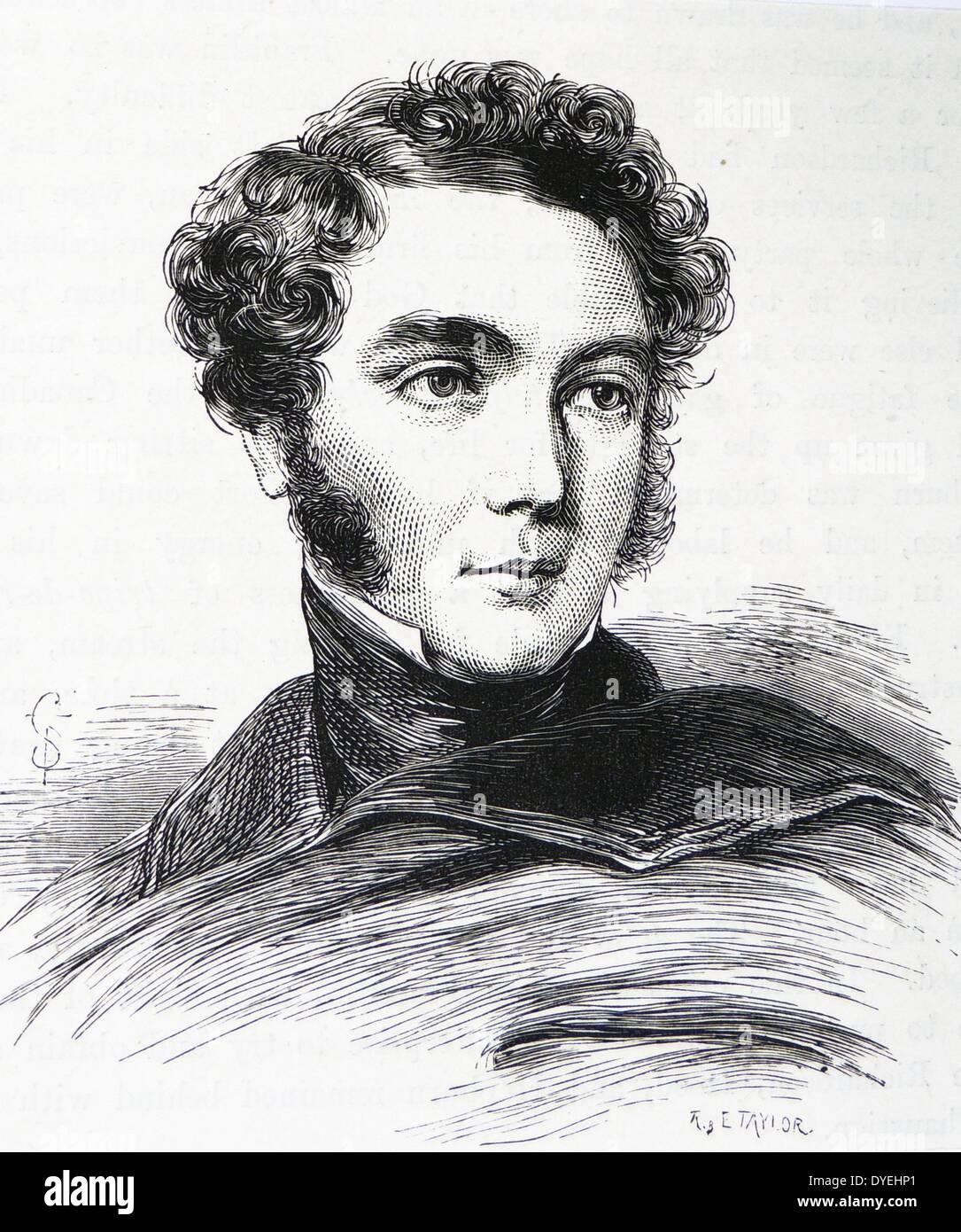 George Back British Arctic explorer and navigator - Stock Image