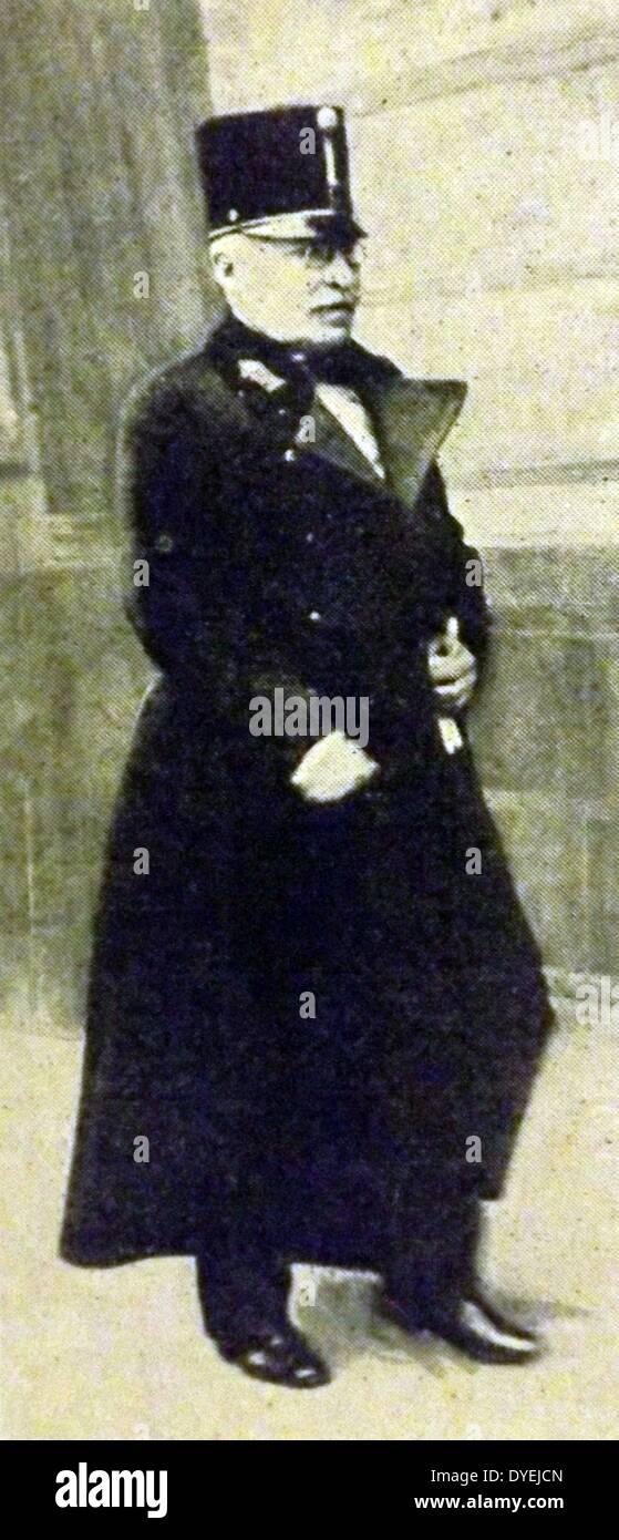 Moritz Freiherr von Auffenberg, Graf von Komarów - Stock Image
