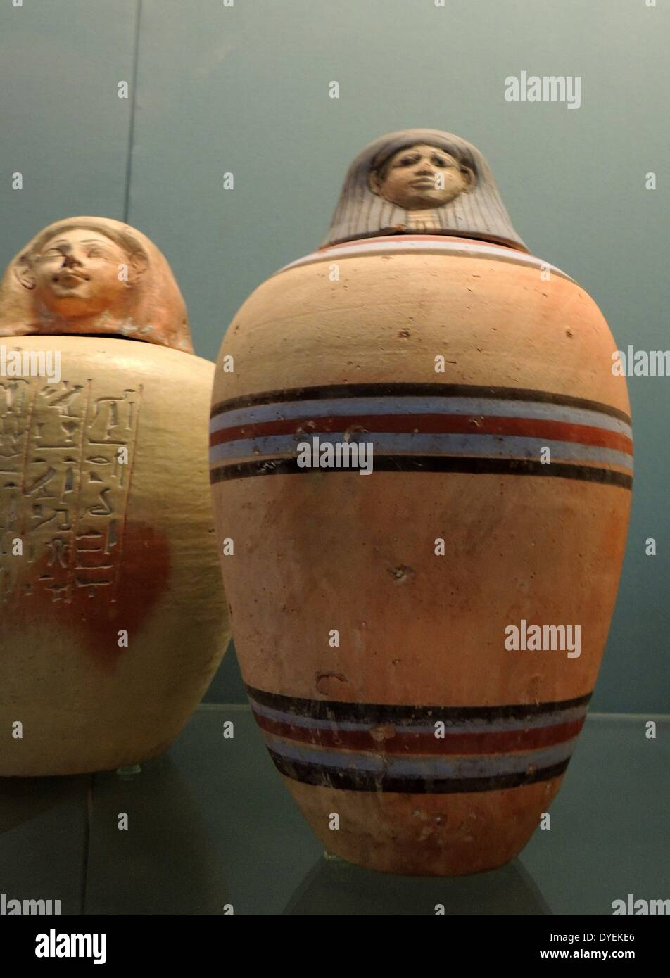 Egyptian Canopic Jar Stock Photos Egyptian Canopic Jar Stock