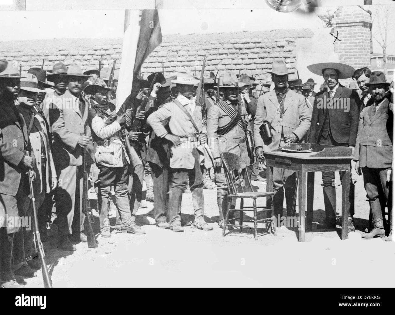The leaders of the Mexican Revolution - Stock Image